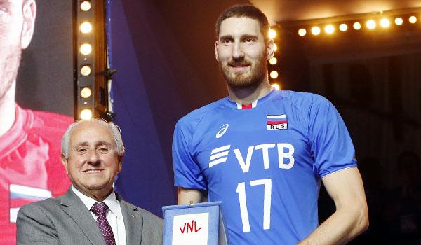 Михайлов – MVP Лиги наций, Андерсон – лучший диагональный (Фото: FIVB)