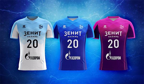 "New kit of ""Zenit-Kazan"" for the season 2018/19"