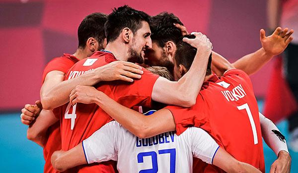 Российские волейболисты обыграли Аргентину в стартовом матче Олимпиады (Фото: FIVB)