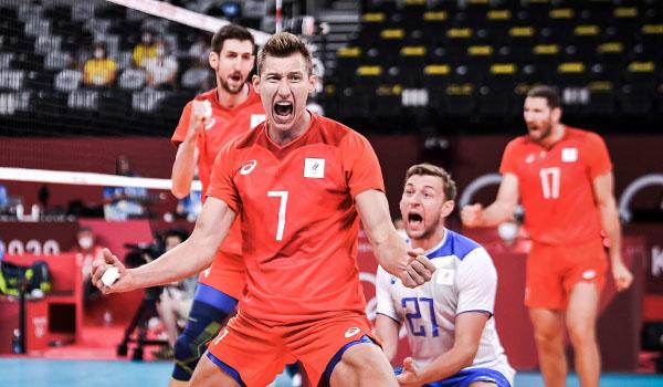 Российские волейболисты обыграли Бразилию на Олимпиаде и лидируют в группе (Фото: FIVB)