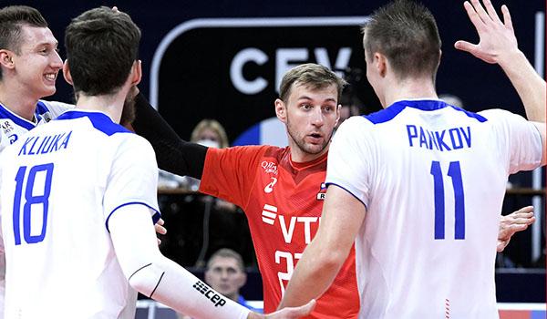 Россия обыграла Украину в 1/8 финала чемпионата Европы по волейболу (Фото: CEV)