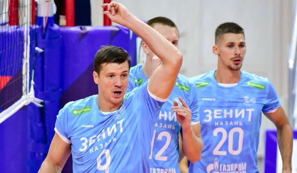 «Зенит-Казань» в трёх партиях выиграл у «Нефтяника» (Фото: orenvolley.com)