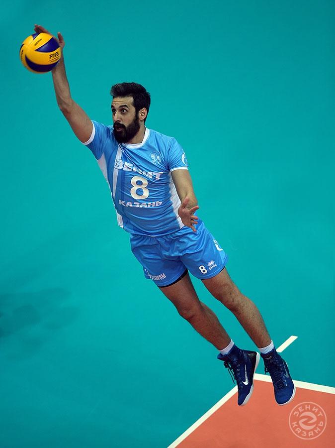Saeid Marouf (Author: Roman Kruchinin)<br />Photoalbum: <a href='?id_players=205'>Saeid Marouf</a>