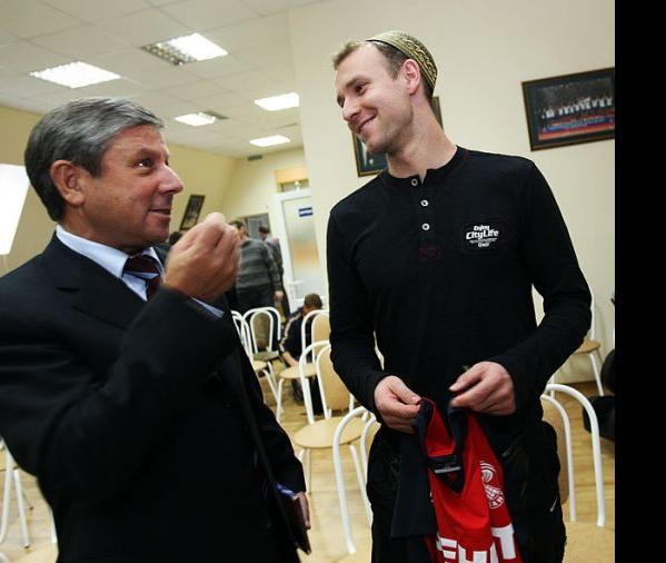 Рафкат Кантюков и Алексей Вербов