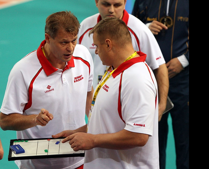 Александр Cеребренников и Владимир Алекно