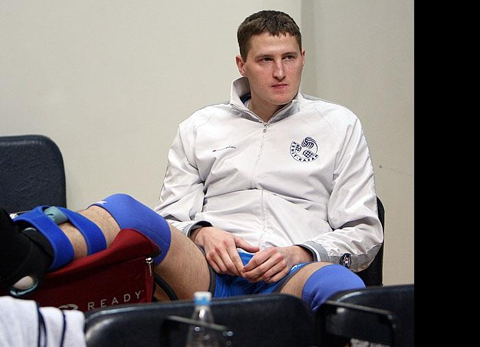 Николай Апаликов получил травму голеностопа