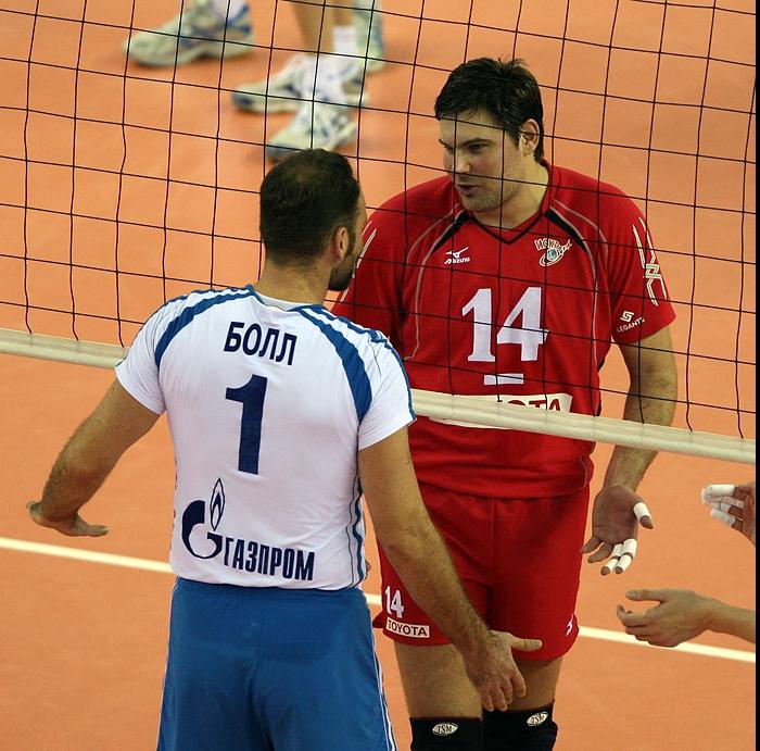 Ллой Болл и Андрей Егорчев