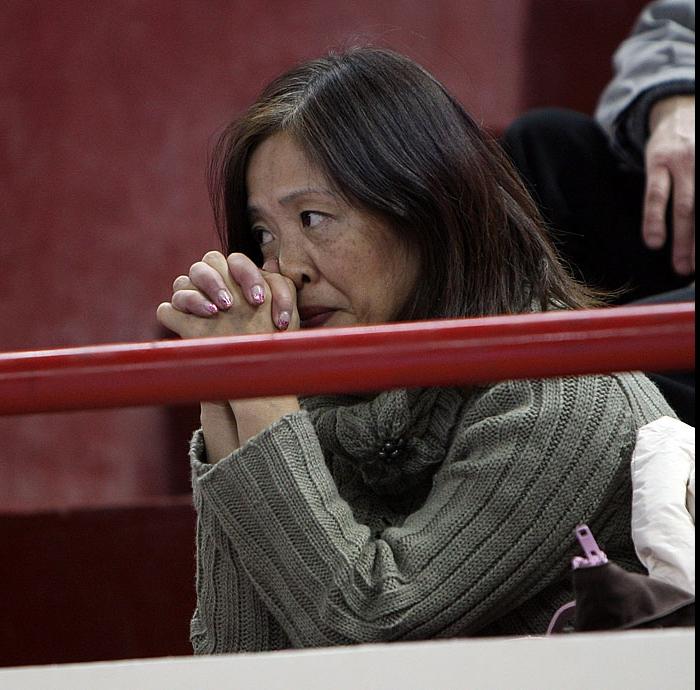Болельщица Ллоя Болла приехавшая в Калининград из Японии