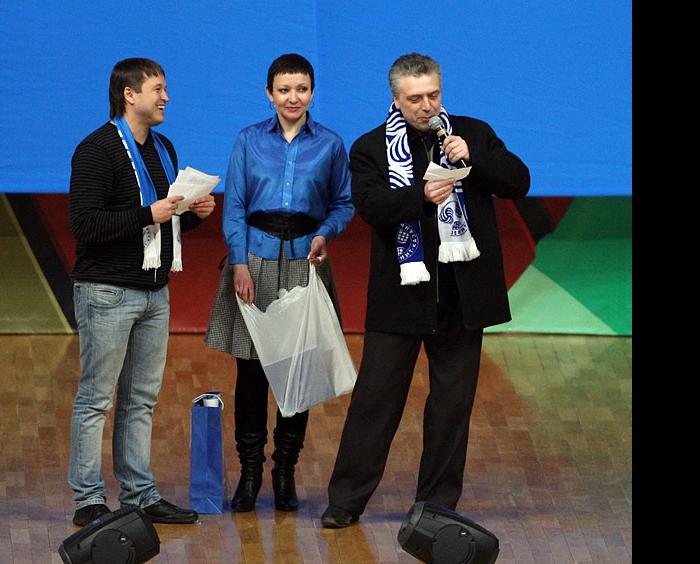Награждение победителей конкурса кричалок