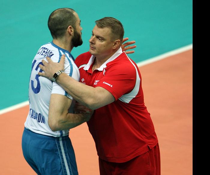 Владимир Алекно и Клэйтон Стэнли