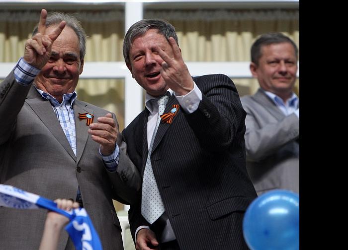 Минтимер Шаймиев и Рафкат Кантюков