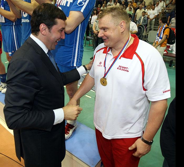 Станислав Шевченко и Владимир Алекно