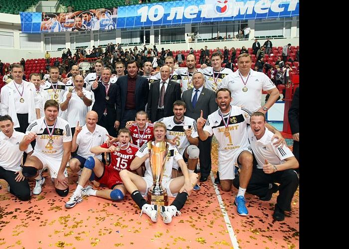 Зенит-Казань - обладатель Суперкубка России-2010!
