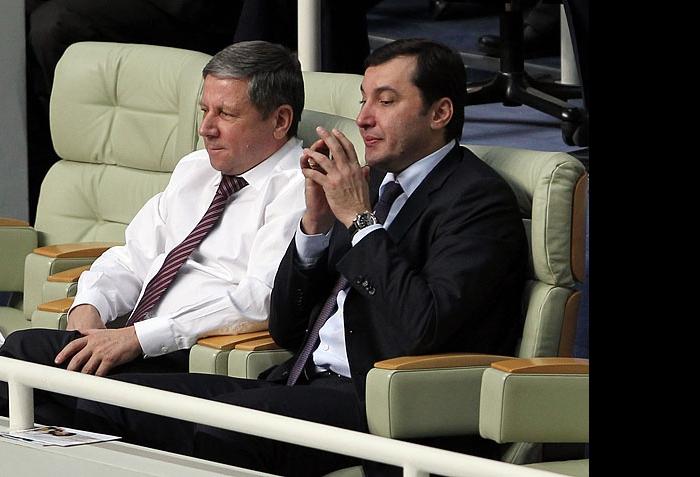 Рафкат Кантюков и Станислав Шевченко