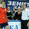 Федор Гидаспов и Александр Cеребренников с семьей