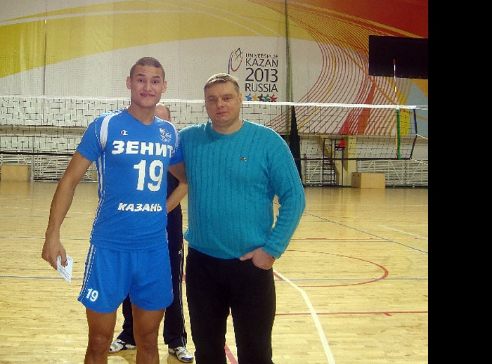 Арсений Сарлыбаев и Владимир Алекно