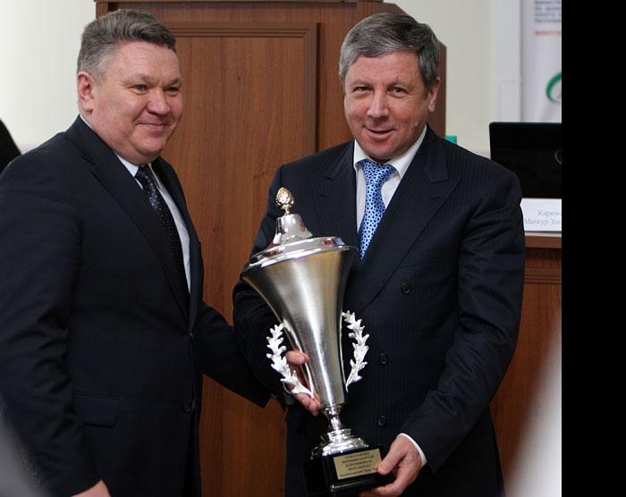 Рафис Бурганов и Рафкат Кантюков