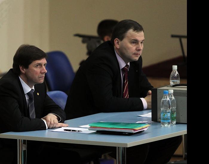 Сергей Титов и Михаил Подлозный