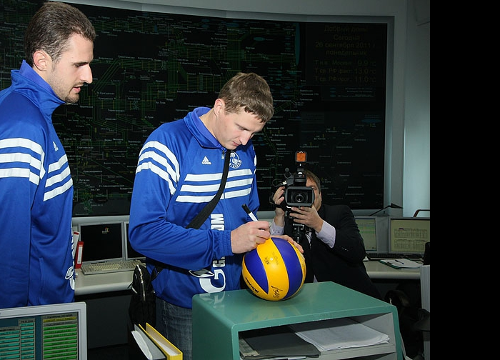 Александр Волков и Николай Апаликов