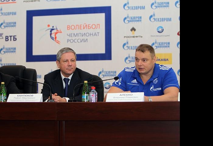 Фарид Мухаметшин, Рафкат Кантюков и Владимир Алекно