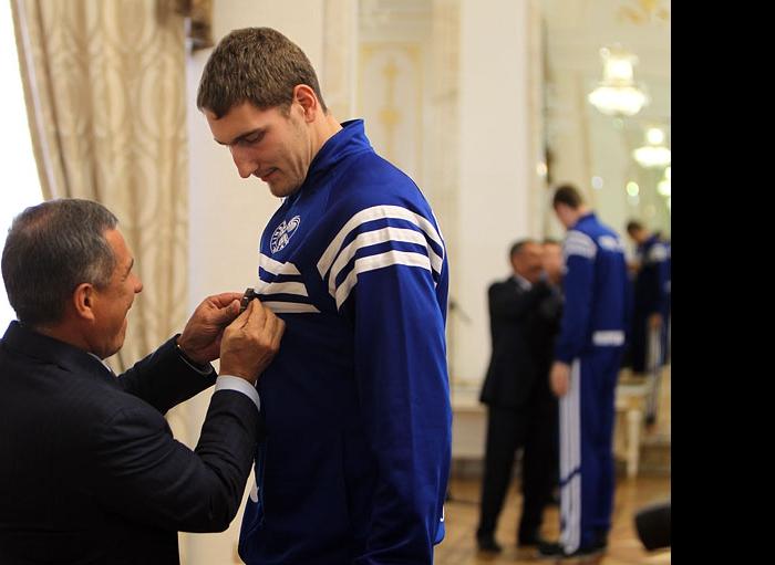 Рустам Минниханов и Максим Михайлов