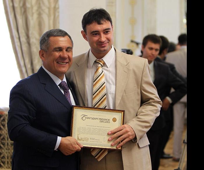 Рустам Минниханов и Минсур Мухаметзанов
