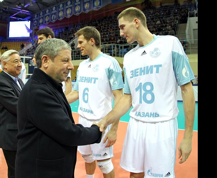 Рафкат Кантюков и Максим Михайлов
