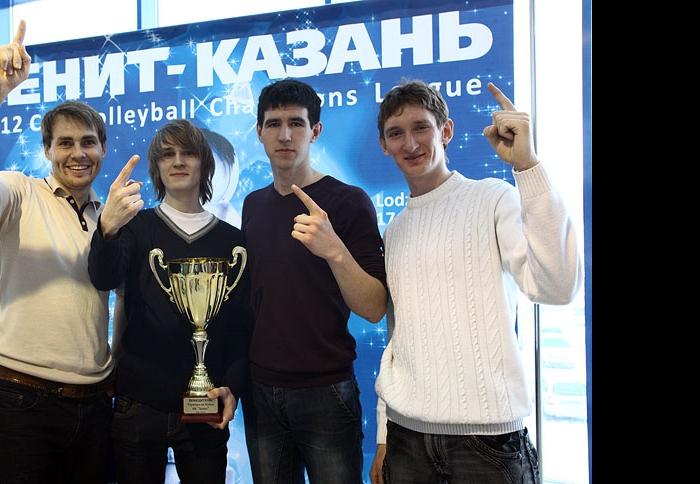 Победители любительского турнира среди студентов