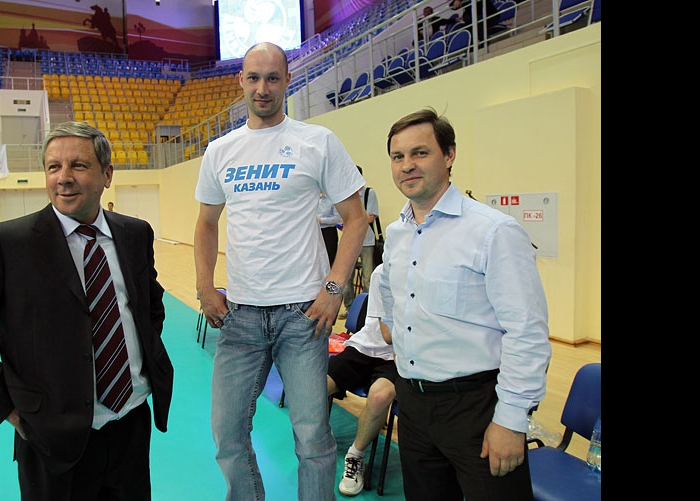 Рафкат Кантюков, Алексей Черемисин и Олег Брызгалов