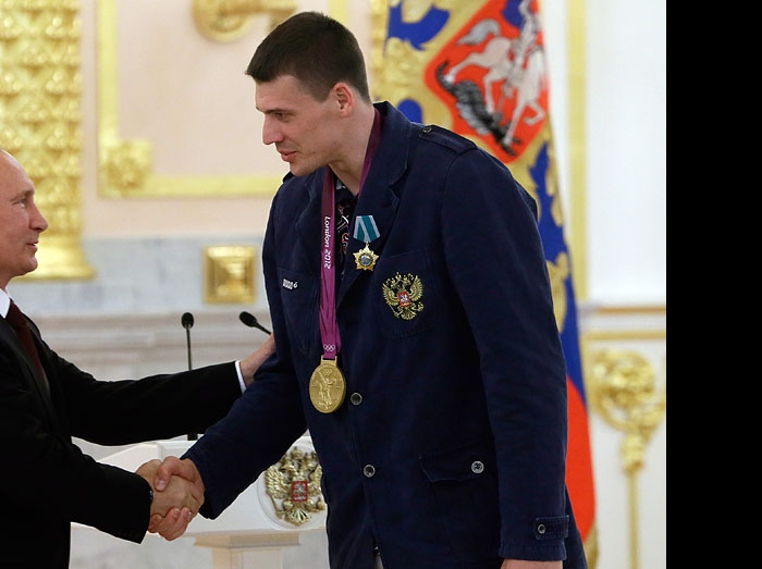 Владимир Путин и Юрий Бережко