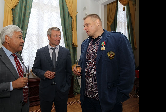 Фарид Мухаметшин, Ильхам Рахматуллин и Владимир Алекно