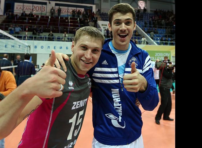 Алексей Обмочаев и Мэтью Андерсон