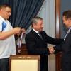 Владимир Алекно, Рафкат Кантюков и Алексей Миллер