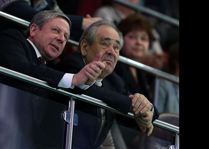 Рафкат Кантюков и Минтимер Шаймиев