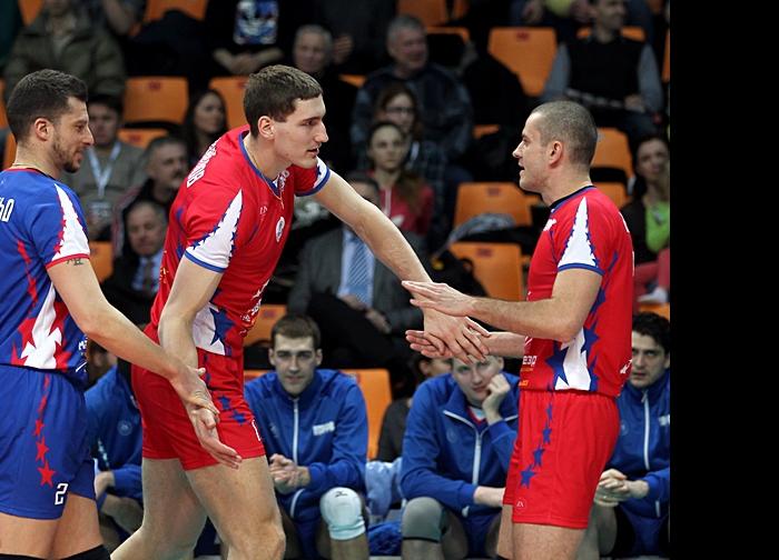 Валерио Вермильо, Максим Михайлов и Владислав Бабичев