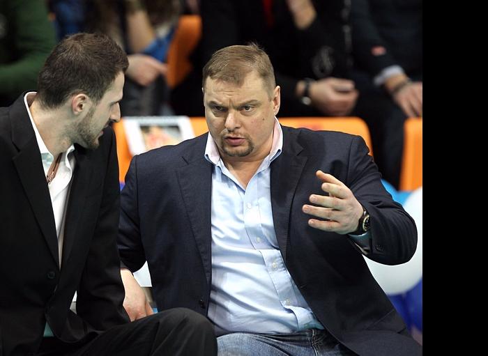 Александр Волков и Владимир Алекно