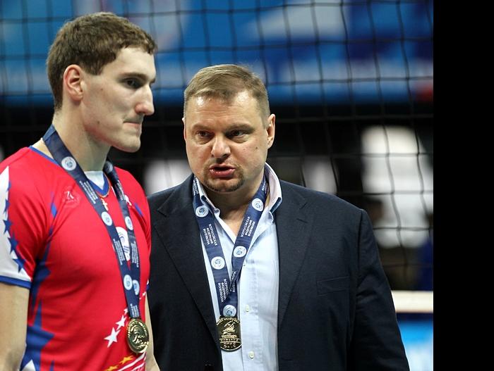 Максим Михайлов и Владимир Алекно