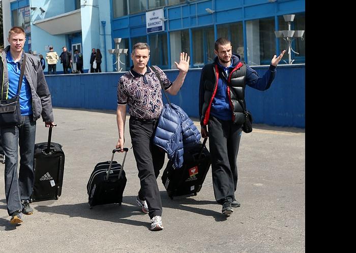Александр Абросимов, Сергей Алексеев и Владислав Бабичев