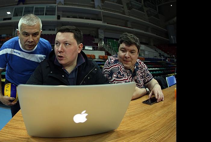 Ильшат Сагитов, Ленар Шамсутдинов и Аскар Абзалов