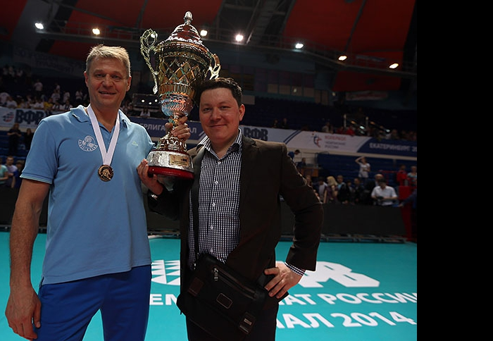 Александр Cеребренников и Ленар Шамсутдинов