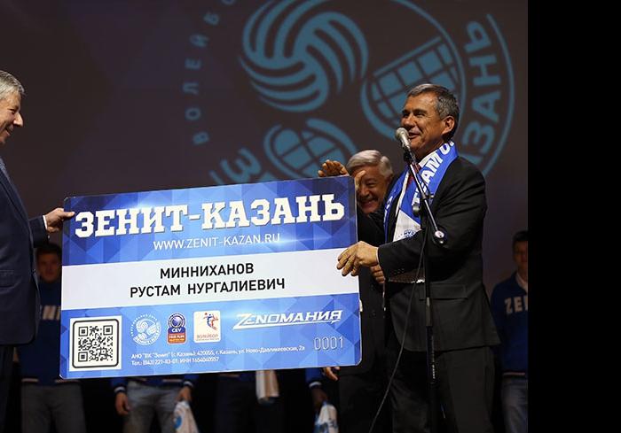 Рафкат Кантюков, Фарид Мухаметшин и Рустам Минниханов
