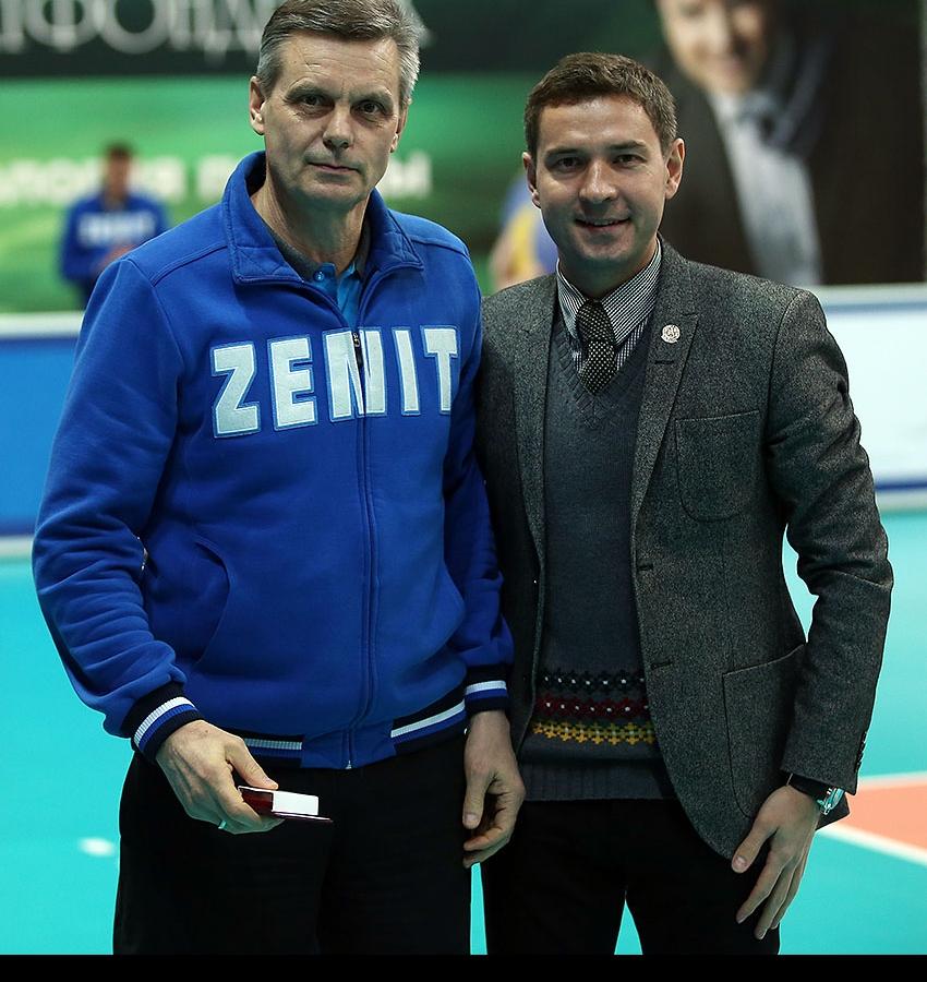 Сергей Алексеев и Владимир Леонов