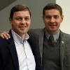 Олег Брызгалов и Владимир Леонов