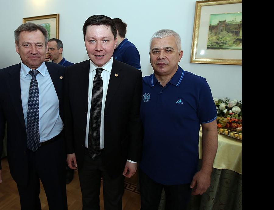 Ринат Багаутдинов, Ленар Шамсутдинов и Ильшат Сагитов