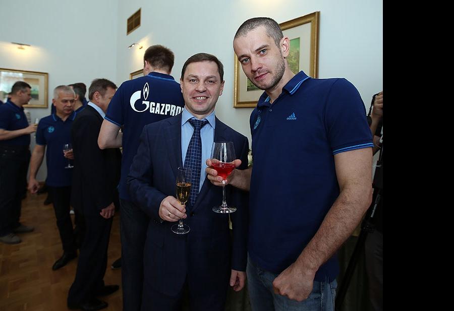 Олег Брызгалов и Владислав Бабичев