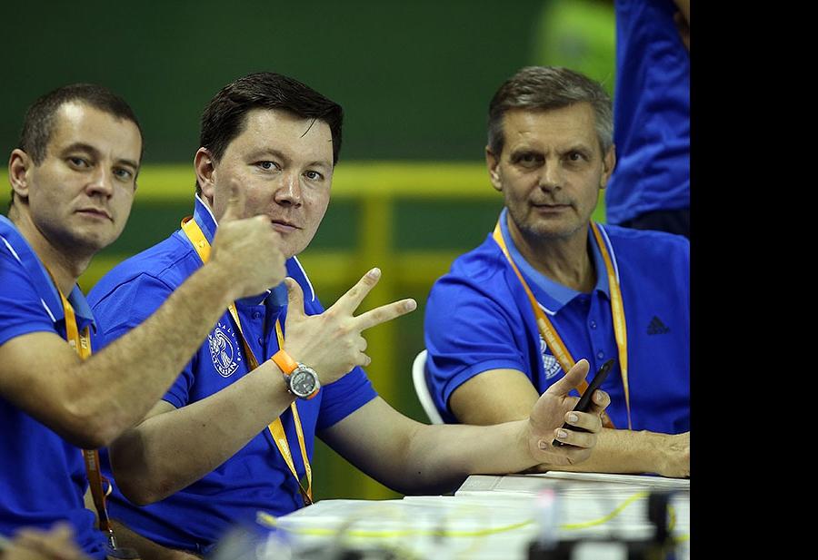 Владислав Бабичев, Ленар Шамсутдинов и Сергей Алексеев