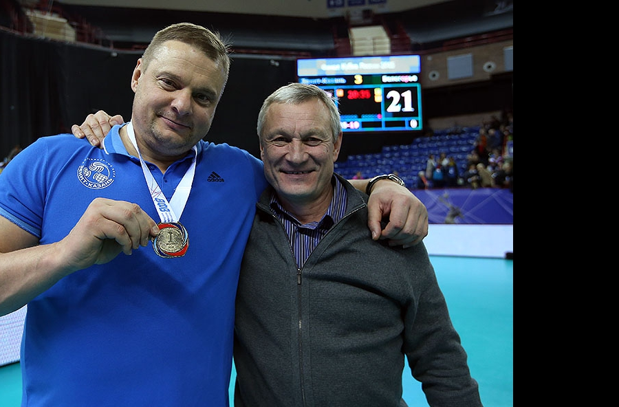 Владимир Алекно и Ильхам Рахматуллин