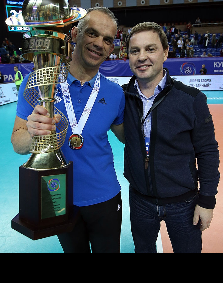 Томазо Тотоло и Олег Брызгалов