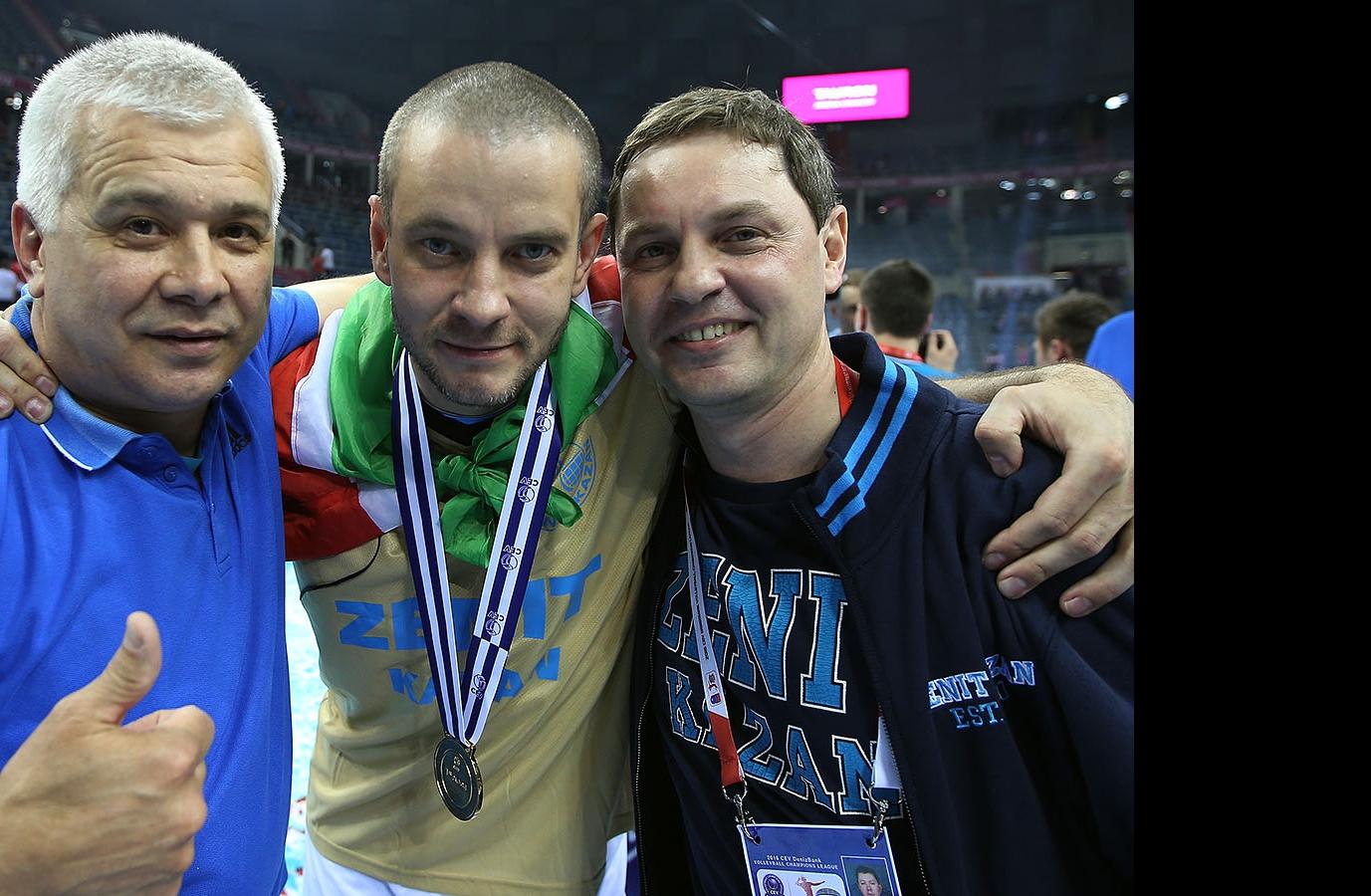 Ильшат Сагитов, Владислав Бабичев и Олег Брызгалов