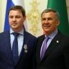 Олег Брызгалов и Рустам Минниханов